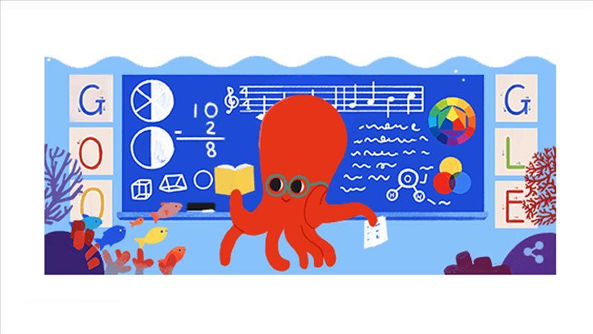 Google 24 Kasım Öğretmenler Günü'nü kutladı