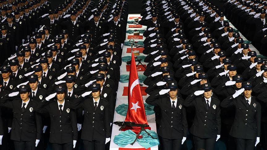 Polis Akademisinde 5 yılda 90 bin üzerinde polis memuru yetişti