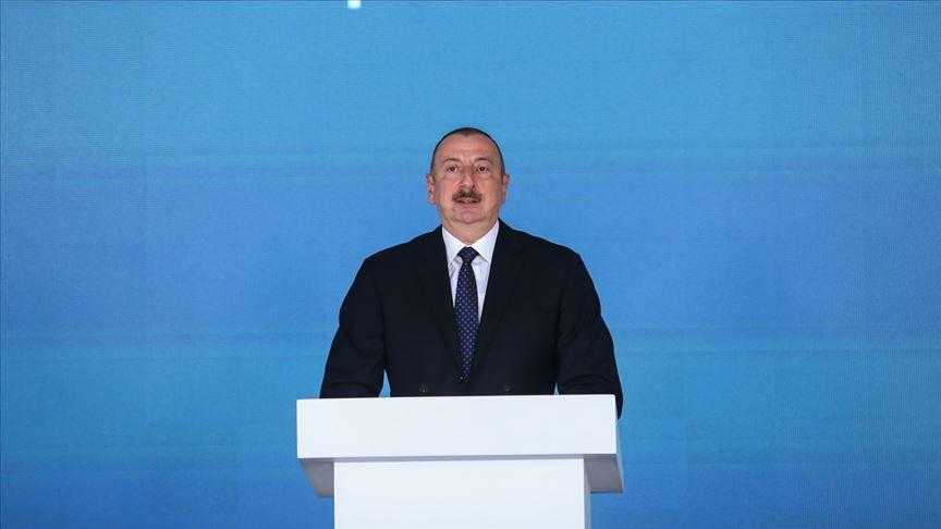 Aliyev: Bugün tarihi bir gündür umarım TANAP'ın ömrü uzun olacak
