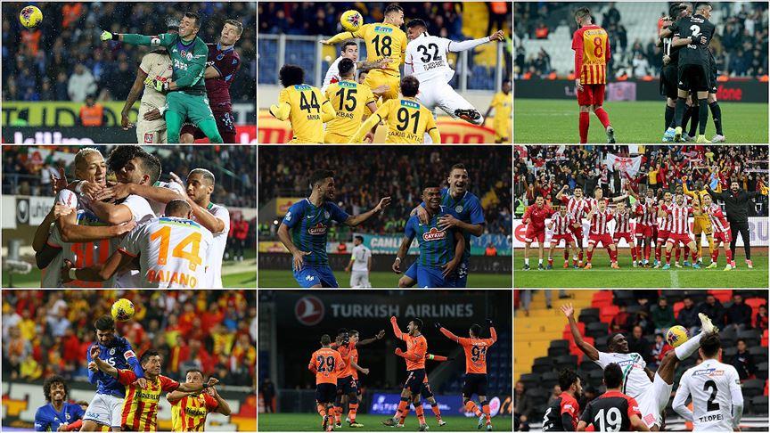 'Süper Lig'de görünüm'