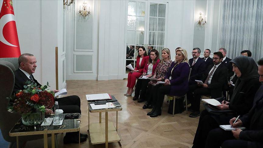 Cumhurbaşkanı Erdoğan: Dörtlü zirveyi en az yılda bir kez yapmayı karara bağladık