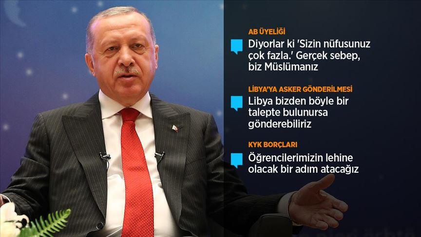 Cumhurbaşkanı Erdoğan: Nobel kendini tüketmiştir!