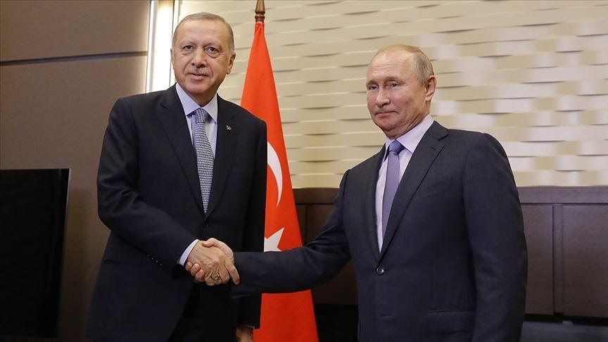 Erdoğan ile Putin Suriye'yi görüştü!