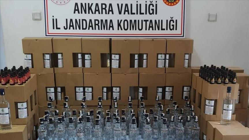 Sahte içki sattığı iddia edilen tekel büfesi sahibi gözaltına alındı!