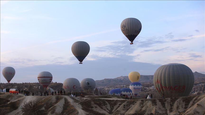 Kapadokya, turizmde yılı rekorla kapatacak!