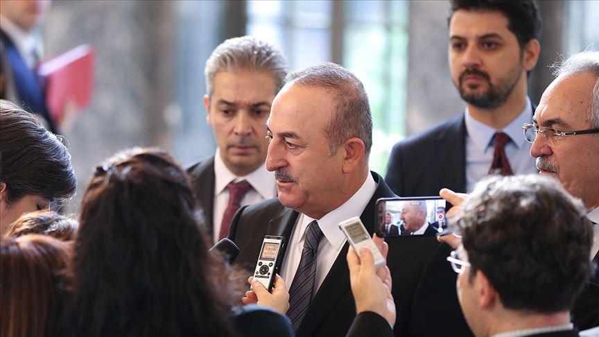 Bakan Çavuşoğlu: Libya ile buna benzer askeri ve güvenlik anlaşmalarımız geçmişte de var