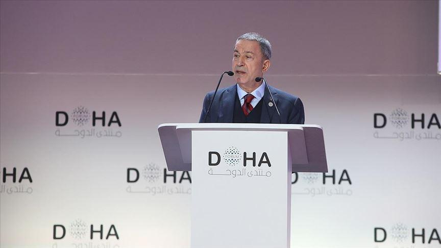 Milli Savunma Bakanı Akar: Sadece terör örgütleri ile mücadele ediyoruz