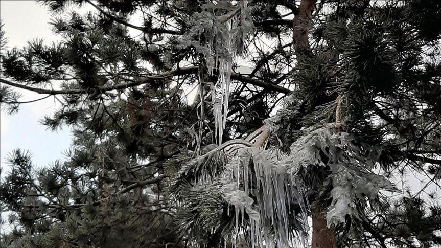 Dört ile buzlanma ve don uyarısı yapıldı