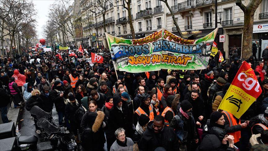 Fransa'da grevler 12. gününde!