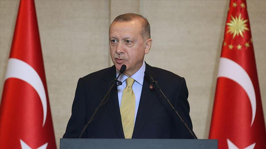 Erdoğan: Yurt dışında yaşayan her bir kardeşimiz Türk milletinin temsilcisidir