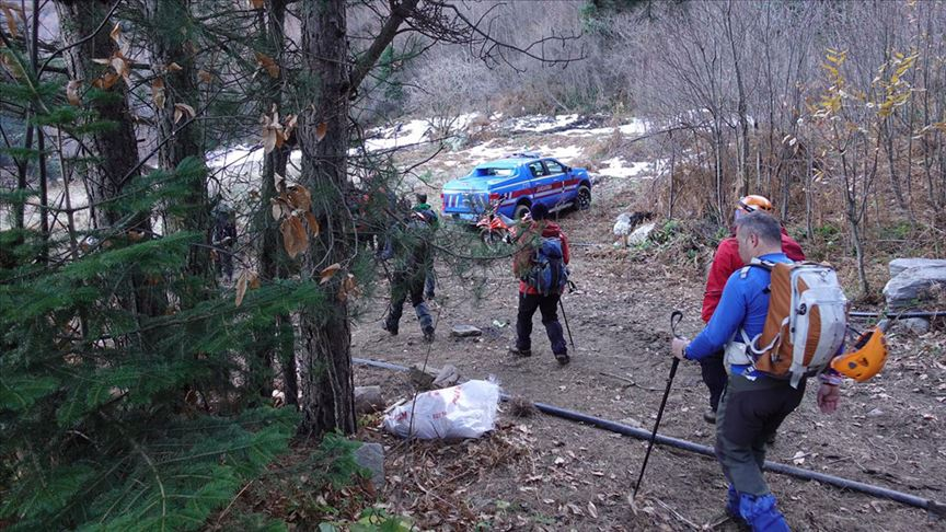 Uludağ'daki arama çalışmalarında bir cansız beden bulundu