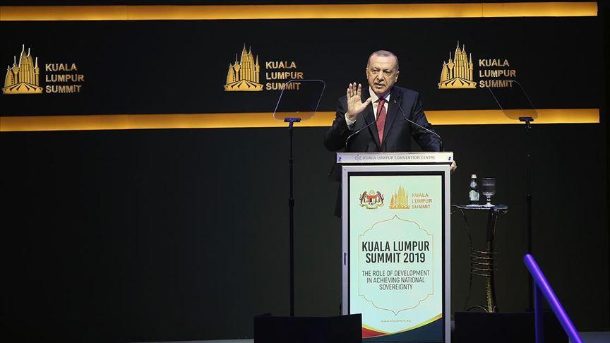 Cumhurbaşkanı Erdoğan: İslam aleminin kaderini 5 ülkenin keyfine bırakan sistem ömrünü tamamlamıştır