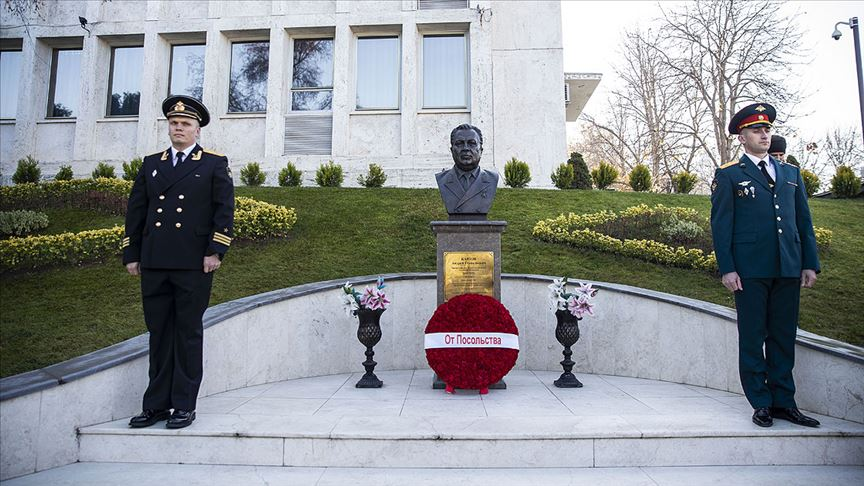 Rus Büyükelçi Karlov Ankara'da anıldı!