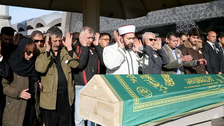 Tunç Başaran için Şakirin Camisi'nde cenaze namazı kılındı