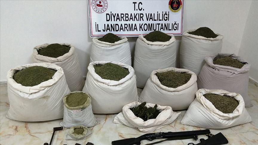 Diyarbakır'ın Lice ilçesinde 'Kıran-11 Narko-Terör Operasyonu' başlatıldı