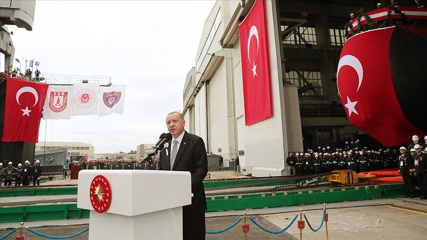 Erdoğan: Türkiye attığı adımlardan kesinlikle geri dönmeyecektir