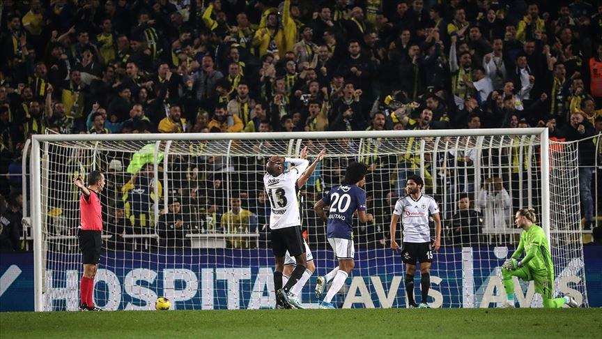 Yılın son derbisinin galibi 'Fenerbahçe'