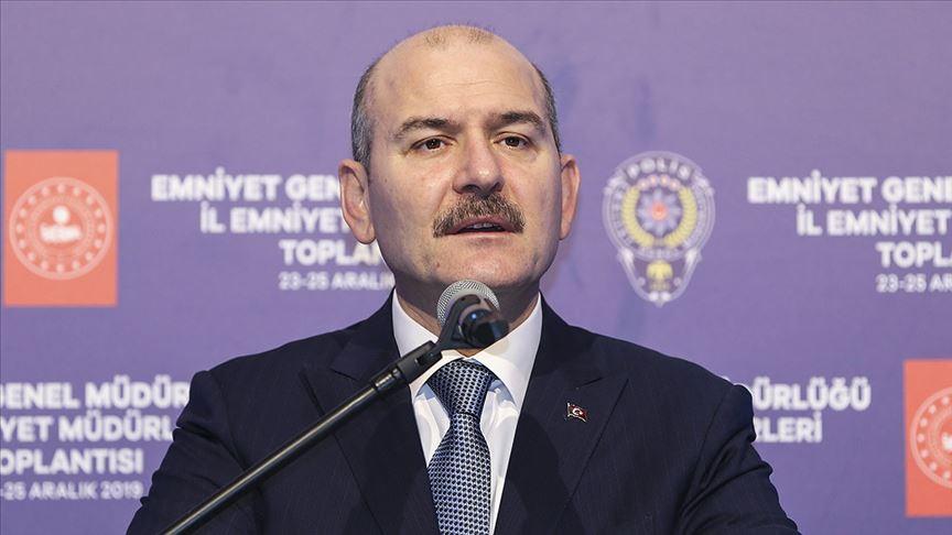 İçişleri Bakanı Soylu: Avrupa 'Ne olursunuz bizi kurtarın' diyecek