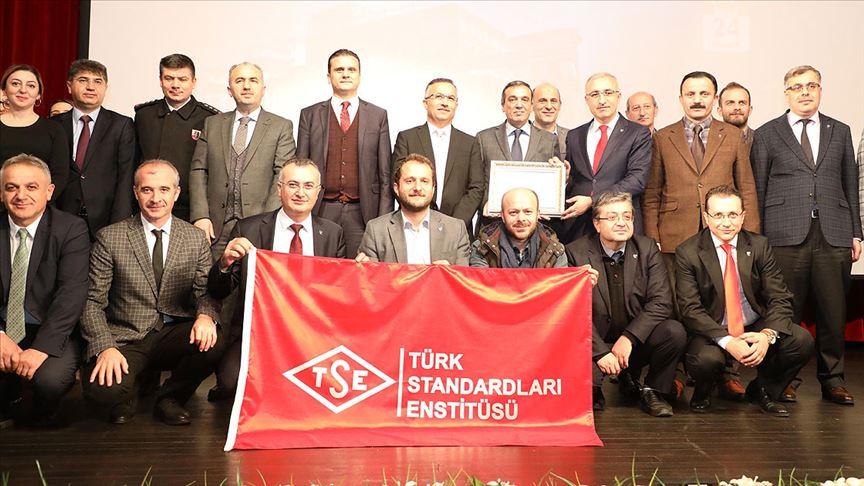 Recep Tayyip Erdoğan Üniversitesine TSE Kalite Yönetim Sistemi Belgesi verildi