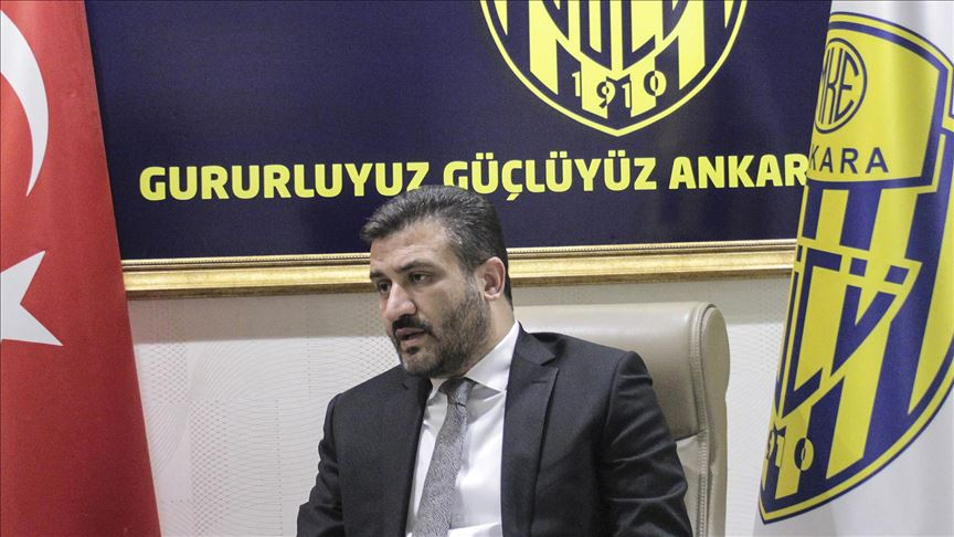 MKE Ankaragücü Başkanı Fatih Mert'ten alacaklı futbolculara çağrı