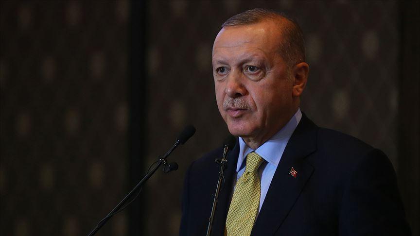Cumhurbaşkanı Erdoğan İsmet İnönü'yü andı!