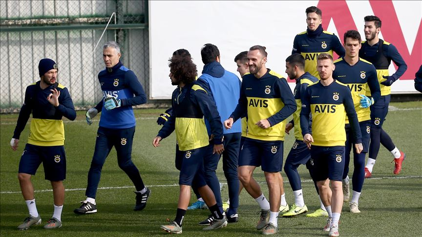Fenerbahçe'de Çaykur Rizespor maçı hazırlıkları