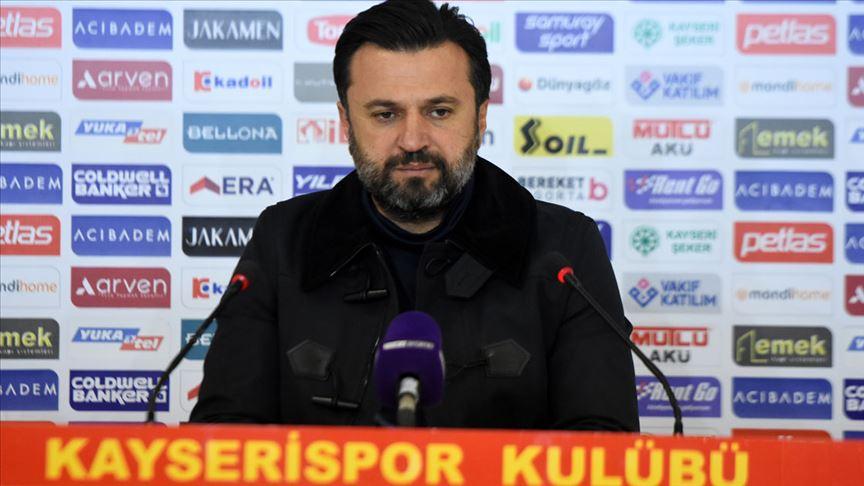 Kayserispor'da teknik direktör Bülent Uygun'la yollar ayrıldı!