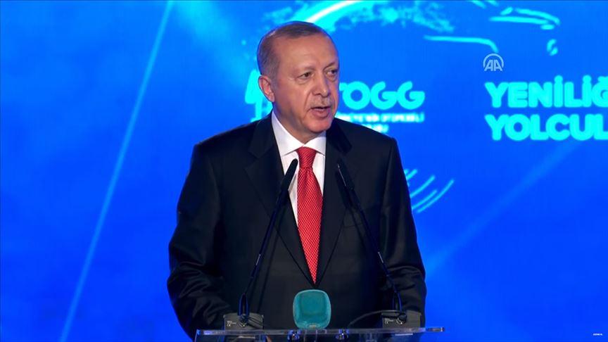 Cumhurbaşkanı Erdoğan: İlk ön siparişi buradan veriyorum