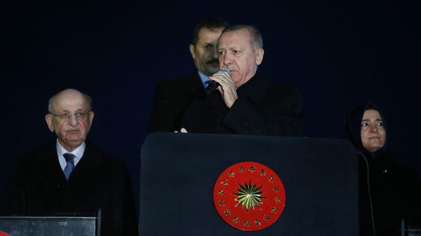 Cumhurbaşkanı Erdoğan: Bugün Türkiye kendi otomobilini hamdolsun dünyaya takdim etti