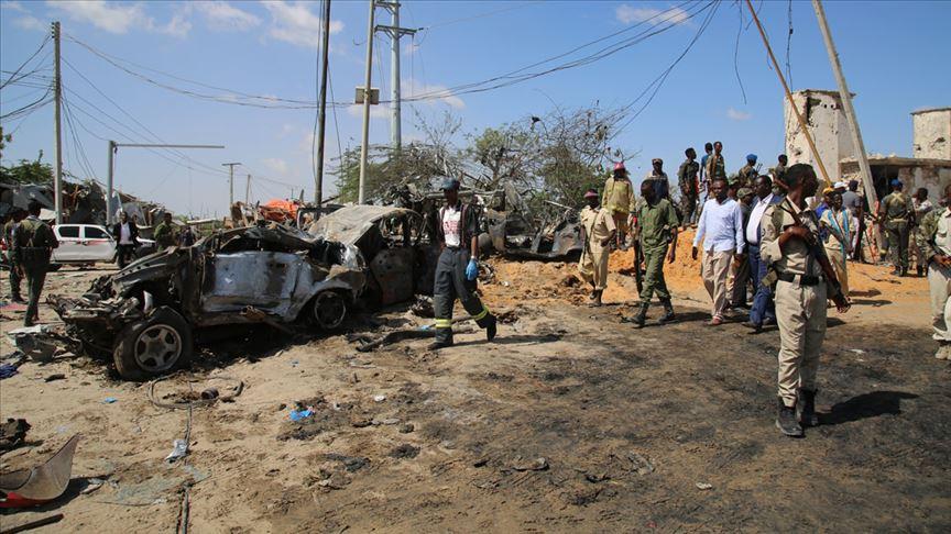 Somali'deki saldırıda 2'si Türk vatandaşı 80 kişi hayatını kaybetti!