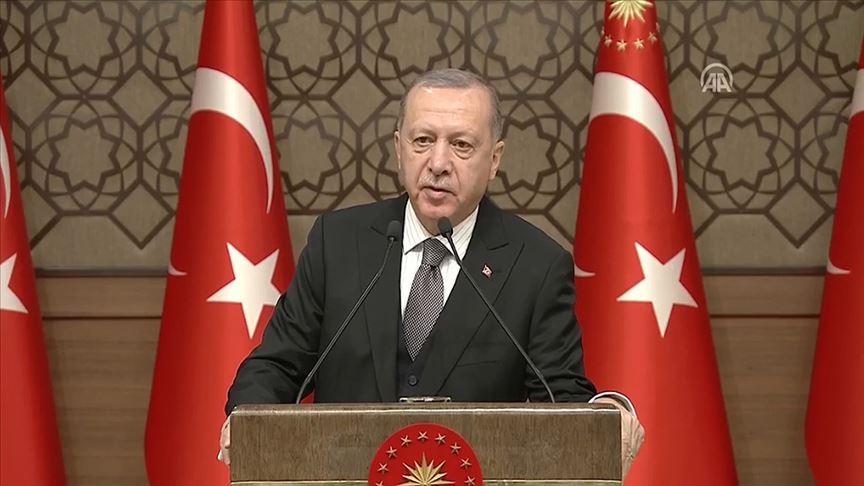 Cumhurbaşkanı Erdoğan: 200-250 bin mülteci sınırımıza doğru hareket halinde