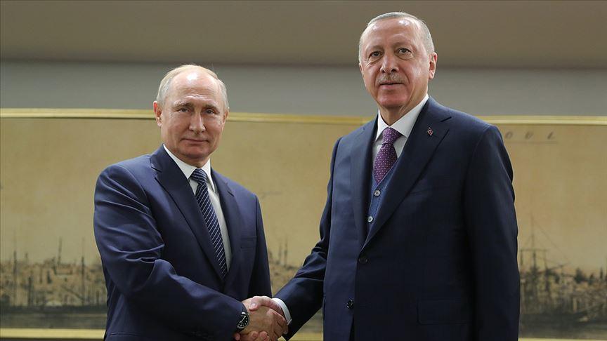 ..Cumhurbaşkanı Erdoğan ile Putin görüşmesi..