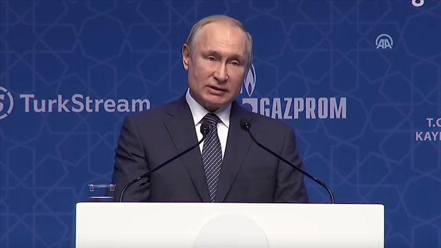 Putin: Rusya-Türkiye işbirliği engelleme çabalarına rağmen gelişiyor