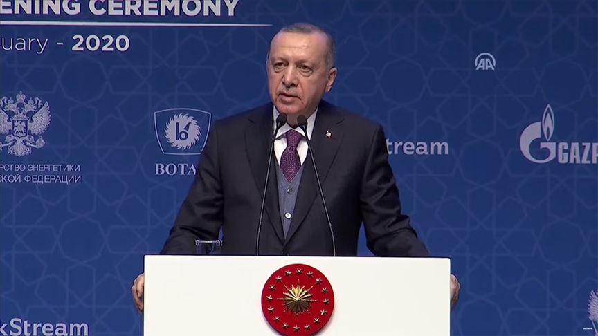 Cumhurbaşkanı Erdoğan: Doğu Akdeniz'de Türkiye'nin dışlandığı hiçbir projenin hayata geçme şansı yok
