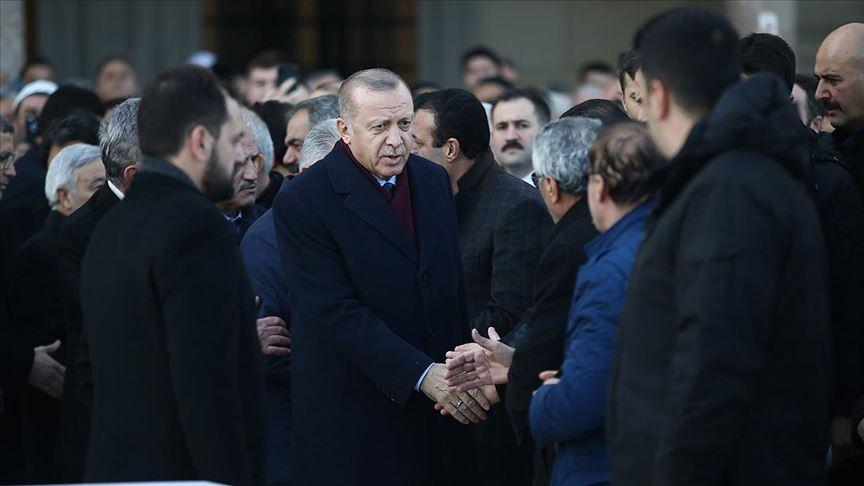 Cumhurbaşkanı Erdoğan cuma namazını Büyük Çamlıca Camisi'nde kıldı