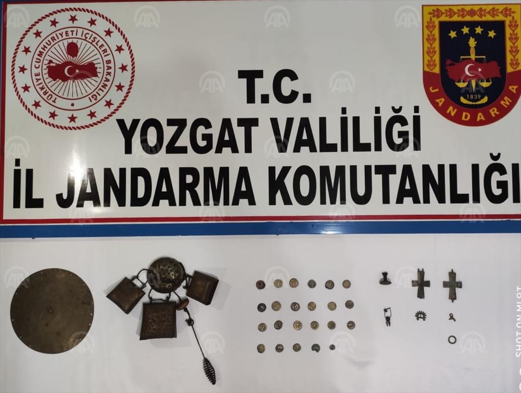 Yozgat'ta 31 parça tarihi eser ele geçirildi!