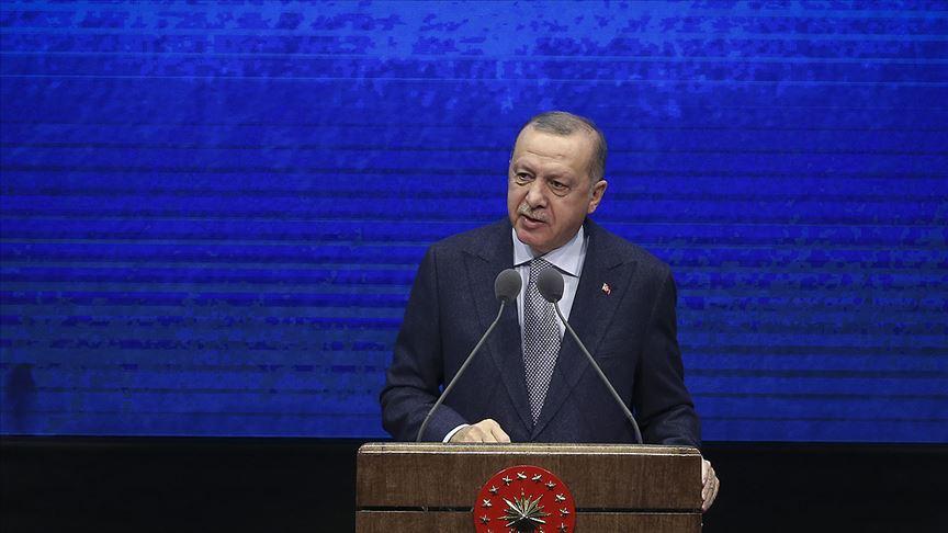 Cumhurbaşkanı Erdoğan: Küresel büyüme beklentisinin üstüne çıkmayı hedefliyoruz