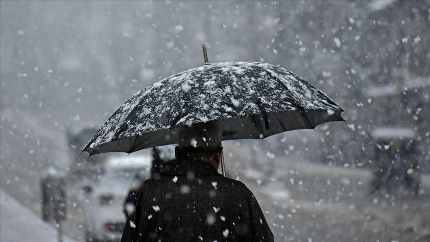 'İç Anadolu, Karadeniz ve Doğu Anadolu için kar uyarısı'