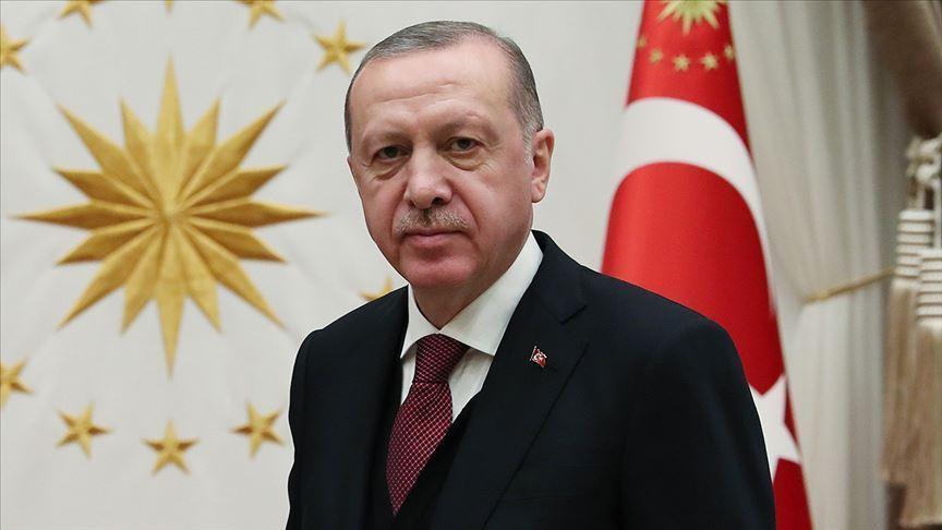 Cumhurbaşkanı Erdoğan, Rahşan Ecevit'in vefatı dolayısıyla Aksakal'a taziyelerini bildirdi