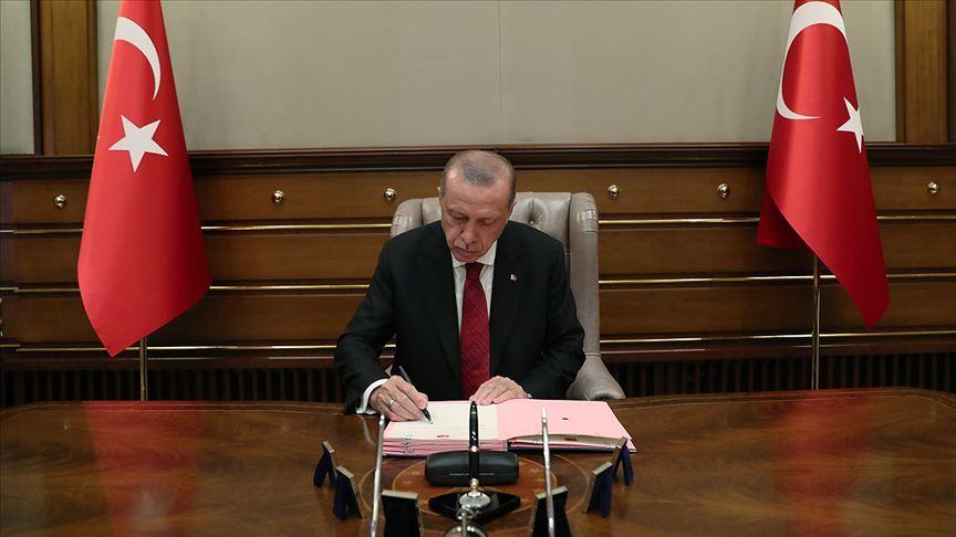 Erdoğan, İİT Tahkim Merkezinin Türkiye'de kurulması anlaşmasına ilişkin kanunu onayladı