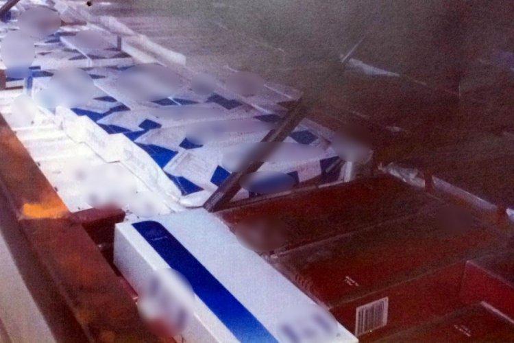 Başkentte gümrük kaçağı sigara ve pipo tütünü ele geçirildi