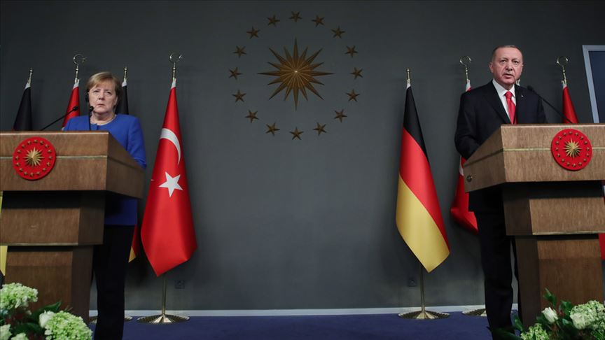 Erdoğan - Merkel ortak basın toplantısı