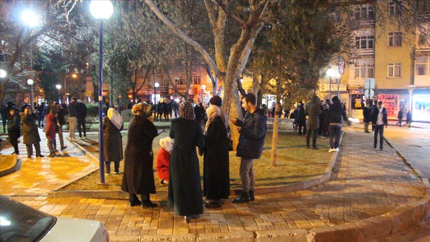 'Elazığ'da Korkutan Deprem'