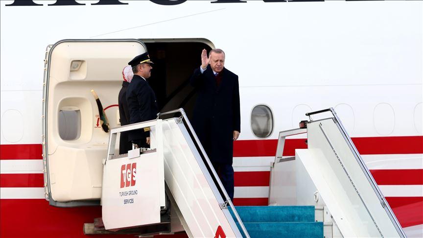 Cumhurbaşkanı Erdoğan, Cezayir, Gambiya ve Senegal'i ziyaret edecek