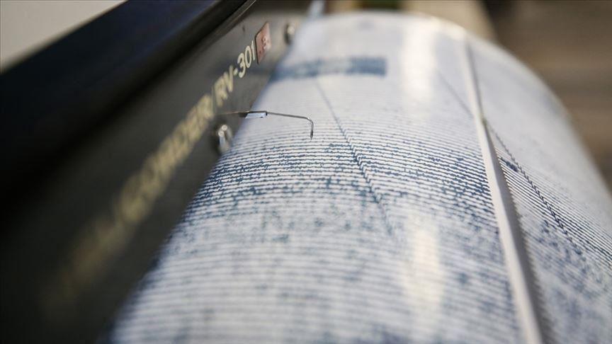 Akdeniz'de 5,4 büyüklüğünde deprem meydana geldi