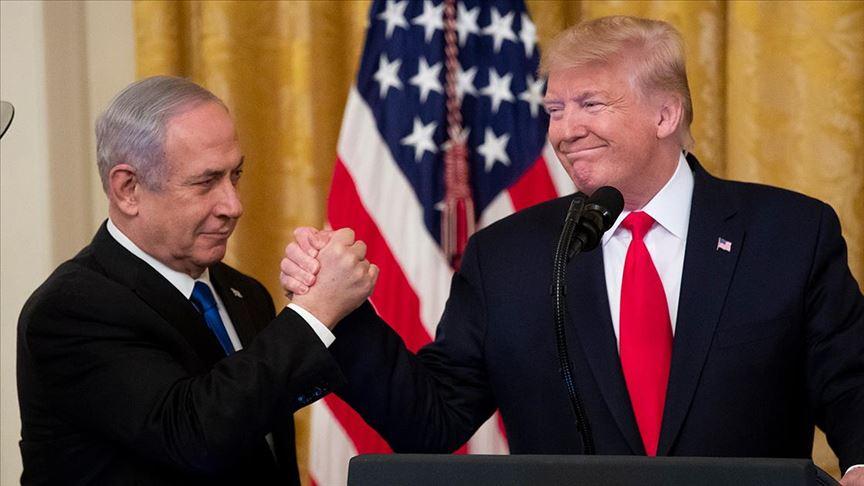 Trump sözde Orta Doğu barış planını açıkladı!