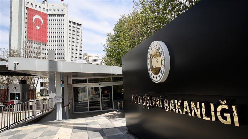 Dışişleri Bakanlığı'ndan BM Barış Gücü misyonunun süresinin uzatılması kararına tepki