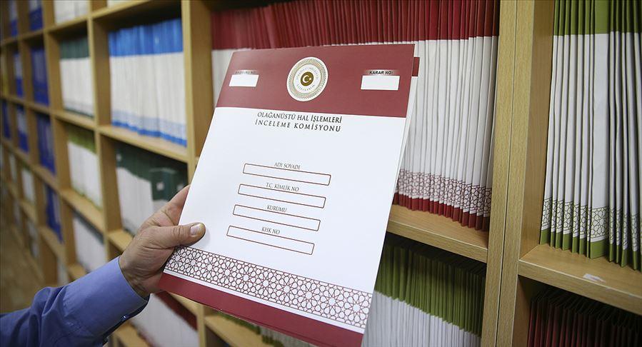 OHAL Komisyonu çalışmalarını ve kararlarını raporlaştırdı
