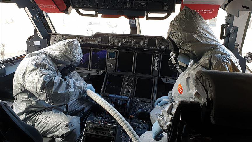 Milli Savunma Bakanlığı: Çin'den gelen yolcu uçağını arıtma işlemleri tamamlandı