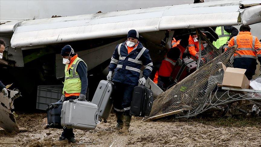 Uçak kazası mağdurlarına psikolojik destek
